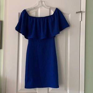 Brand new Off the Shoulder Royal Blue Dress